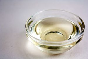 small bowl of oil